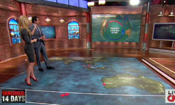 CNN New Day Indra Petersons and Chris Cuomo Floor Map Analysis