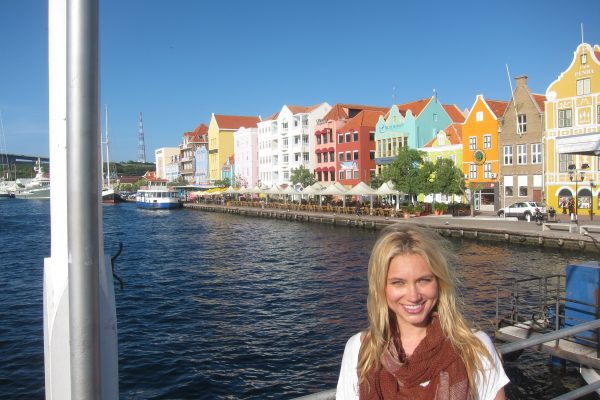 Indra Petersons weather Curacao explore meteorologist abc cnn travel